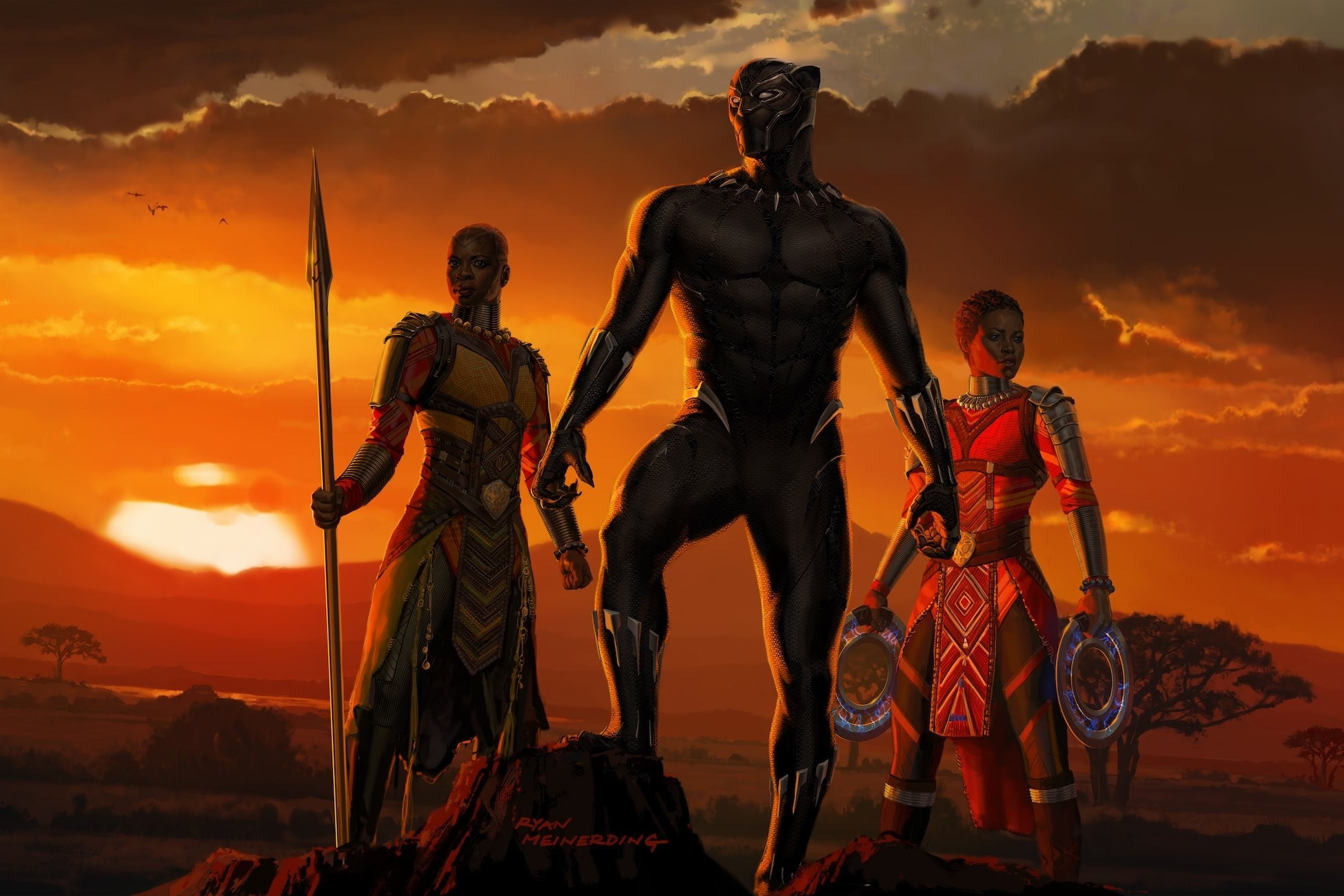 10 Best Black Panther Movie Wallpaper FULL HD 1080p For PC Desktop