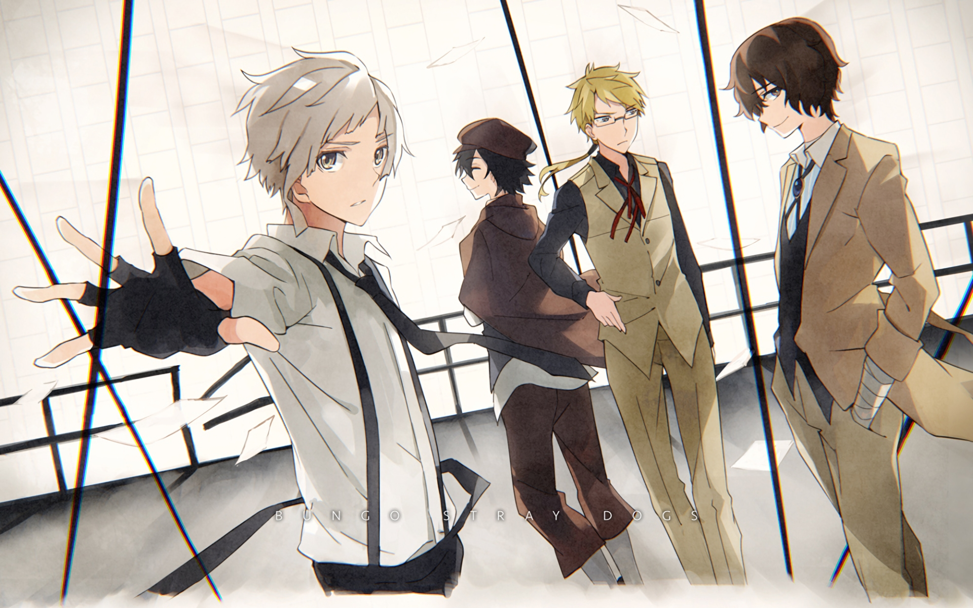 81 bungou stray dogs hd wallpapers   background images - wallpaper abyss