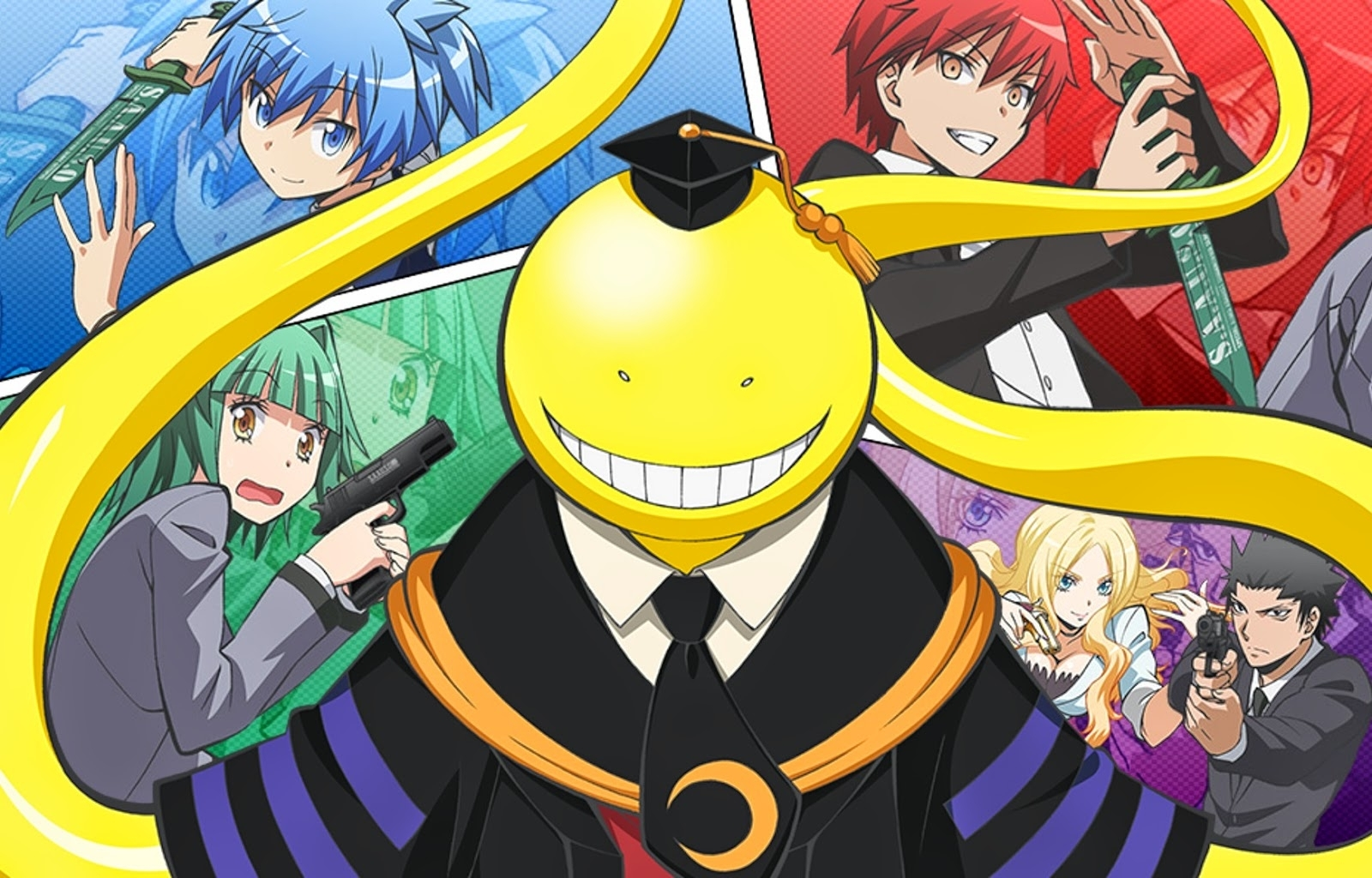 84 assassination classroom hd wallpapers | background images
