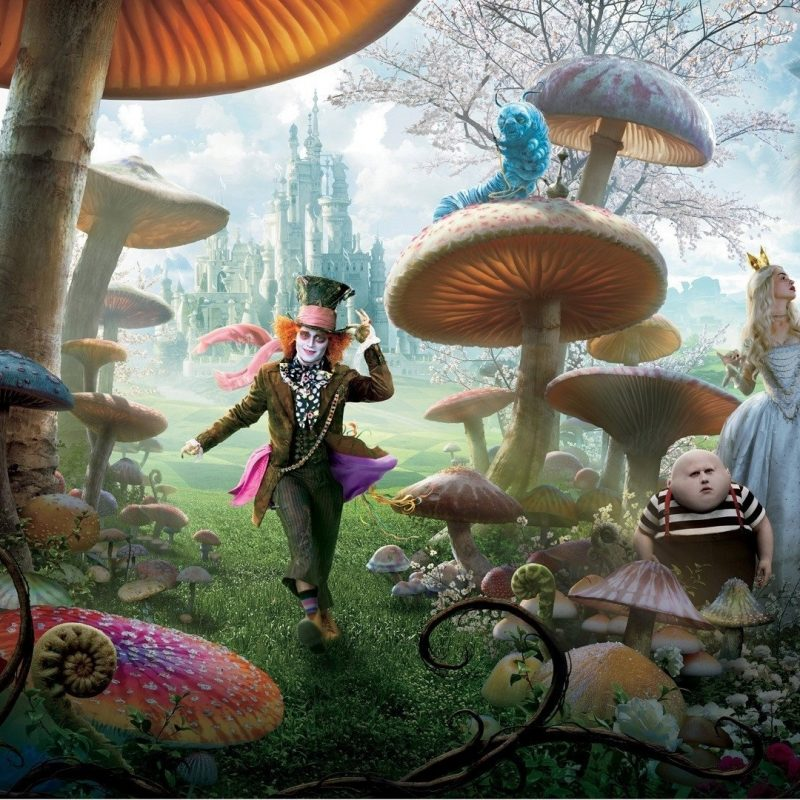 10 New Alice In Wonderland Backgrounds FULL HD 1920×1080 For PC Background 2018 free download 87 alice in wonderland 2010 hd wallpapers background images 2 800x800
