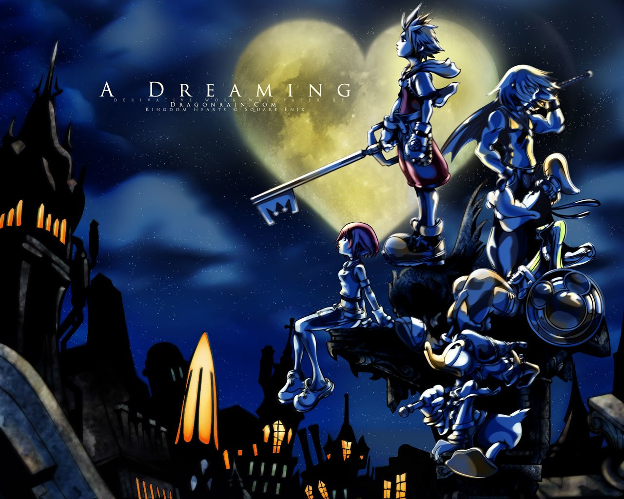 88 kingdom hearts hd wallpapers | background images - wallpaper abyss