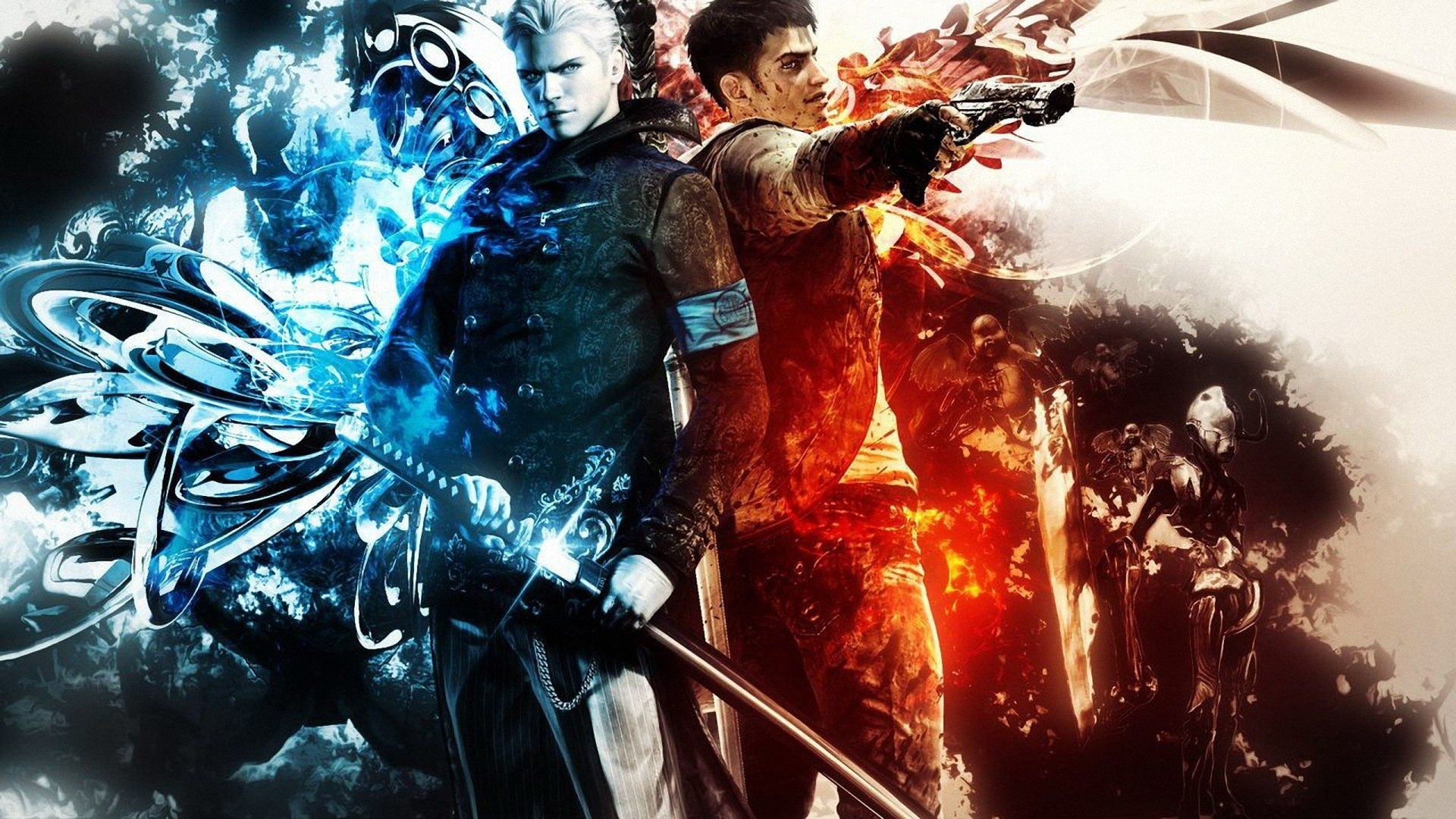 92 devil may cry hd wallpapers | background images - wallpaper abyss