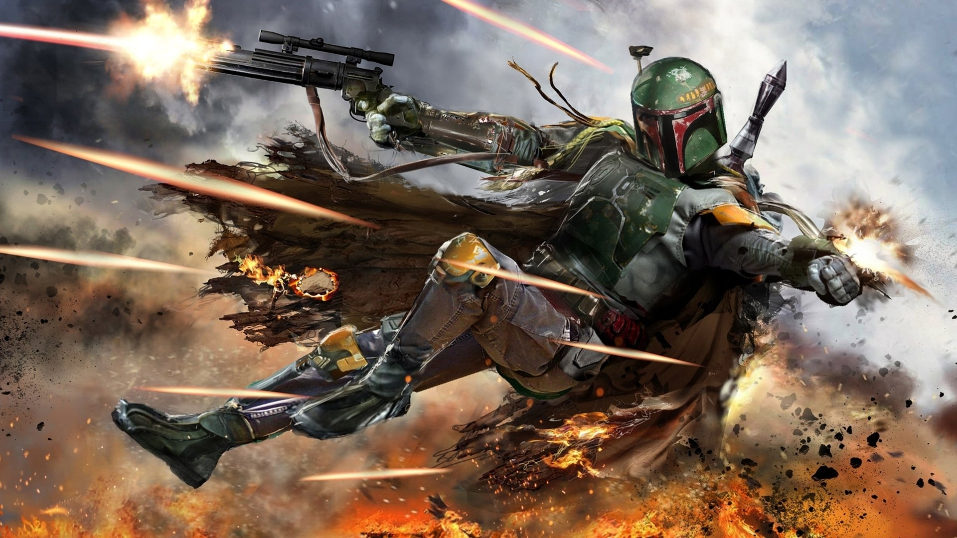 94 boba fett hd wallpapers | background images - wallpaper abyss