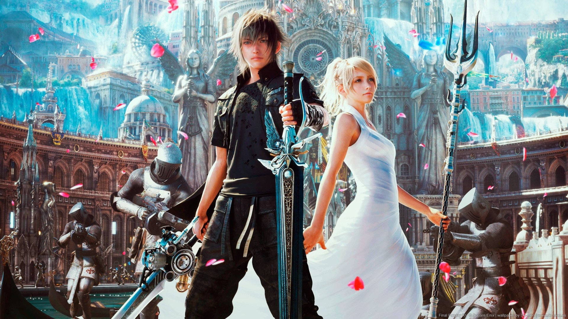 97 final fantasy xv hd wallpapers   background images - wallpaper