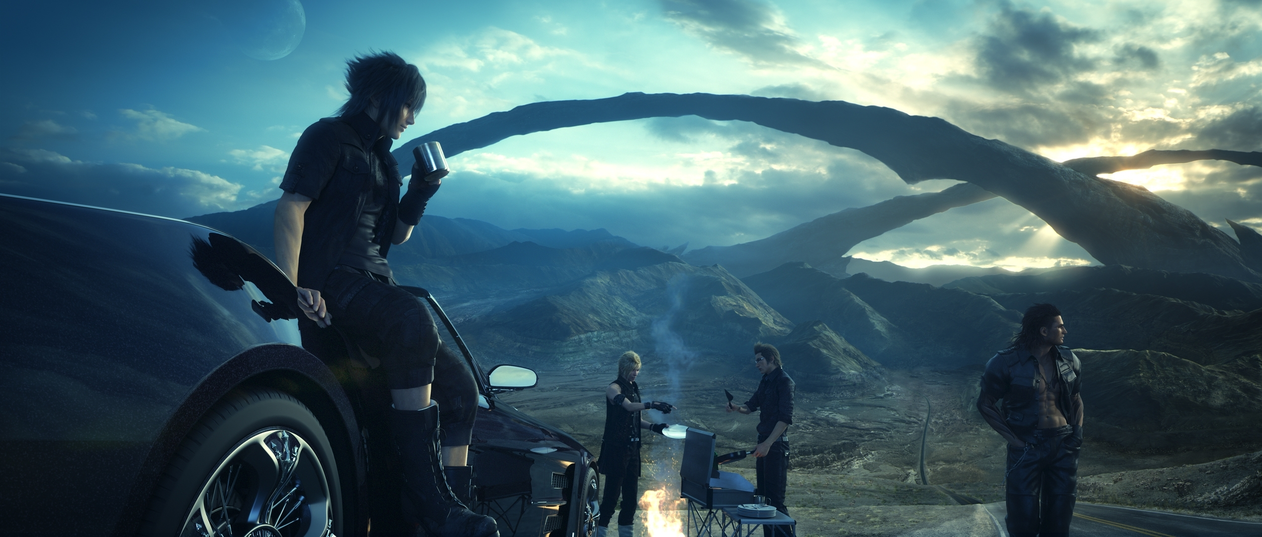10 Top Final Fantasy 15 Wallpapers FULL HD 1920×1080 For PC Background