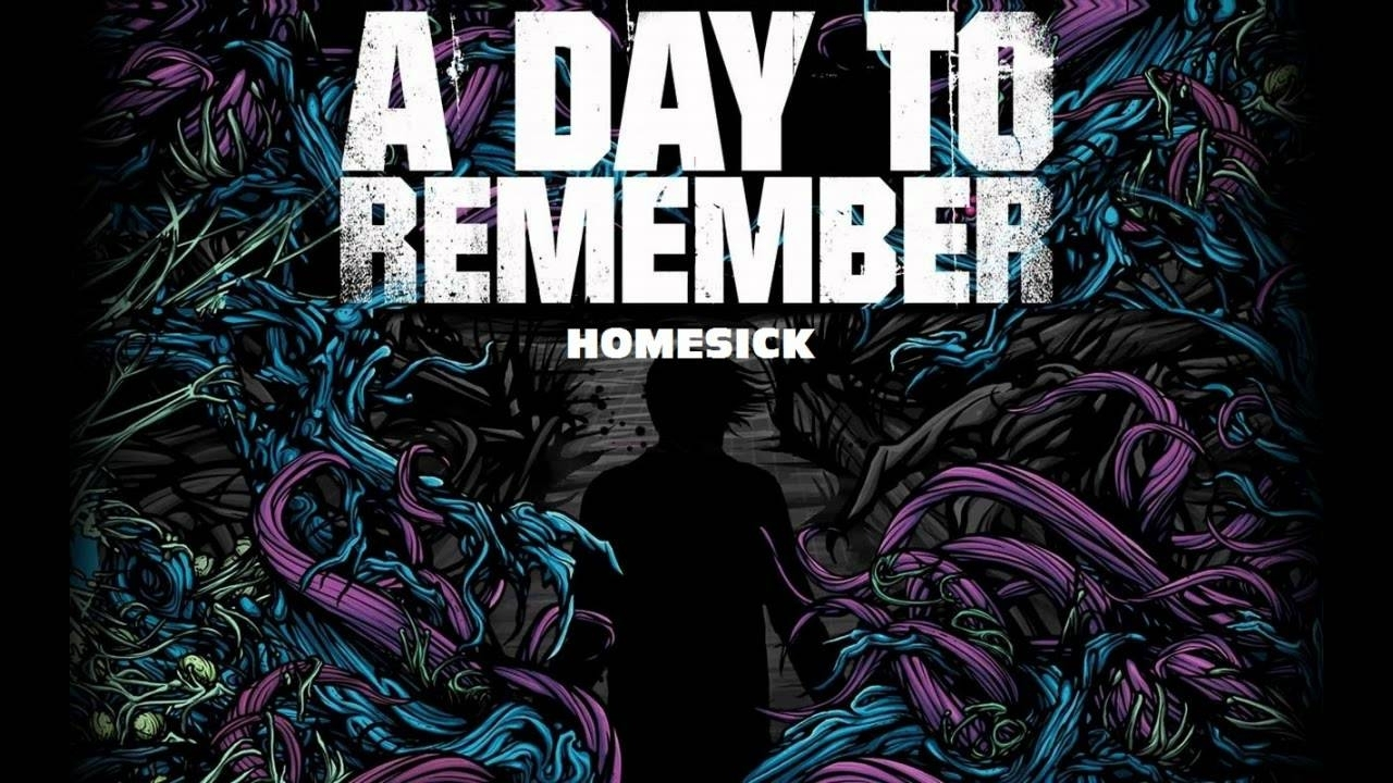 a day to remember - homesick (lyrics + high quality) - youtube