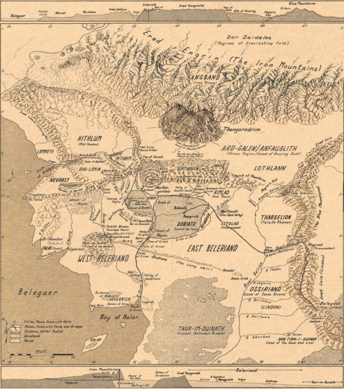 10 Most Popular Map Of Middle Earth High Resolution FULL HD 1920×1080 For PC Desktop 2020 free download a full sized map of beleriand now i can finally see where 707x800