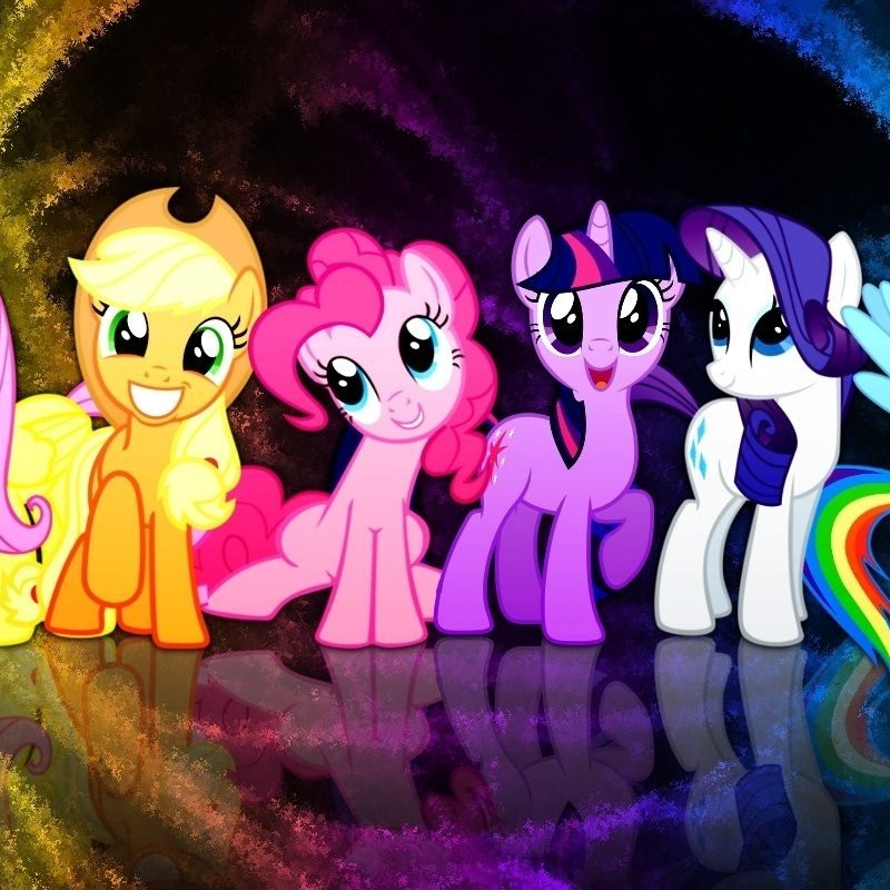 10 Latest My Little Pony Wallpaper FULL HD 1920×1080 For PC Background 2021 free download a mane six wallpaper pony stuff pinterest pony wallpaper and 800x800