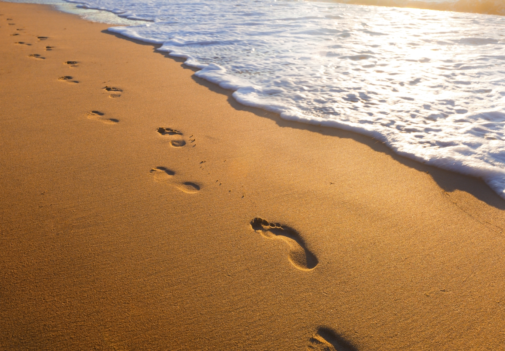 10 Latest Footprints In The Sand Pictures FULL HD 1920×1080 For PC Desktop