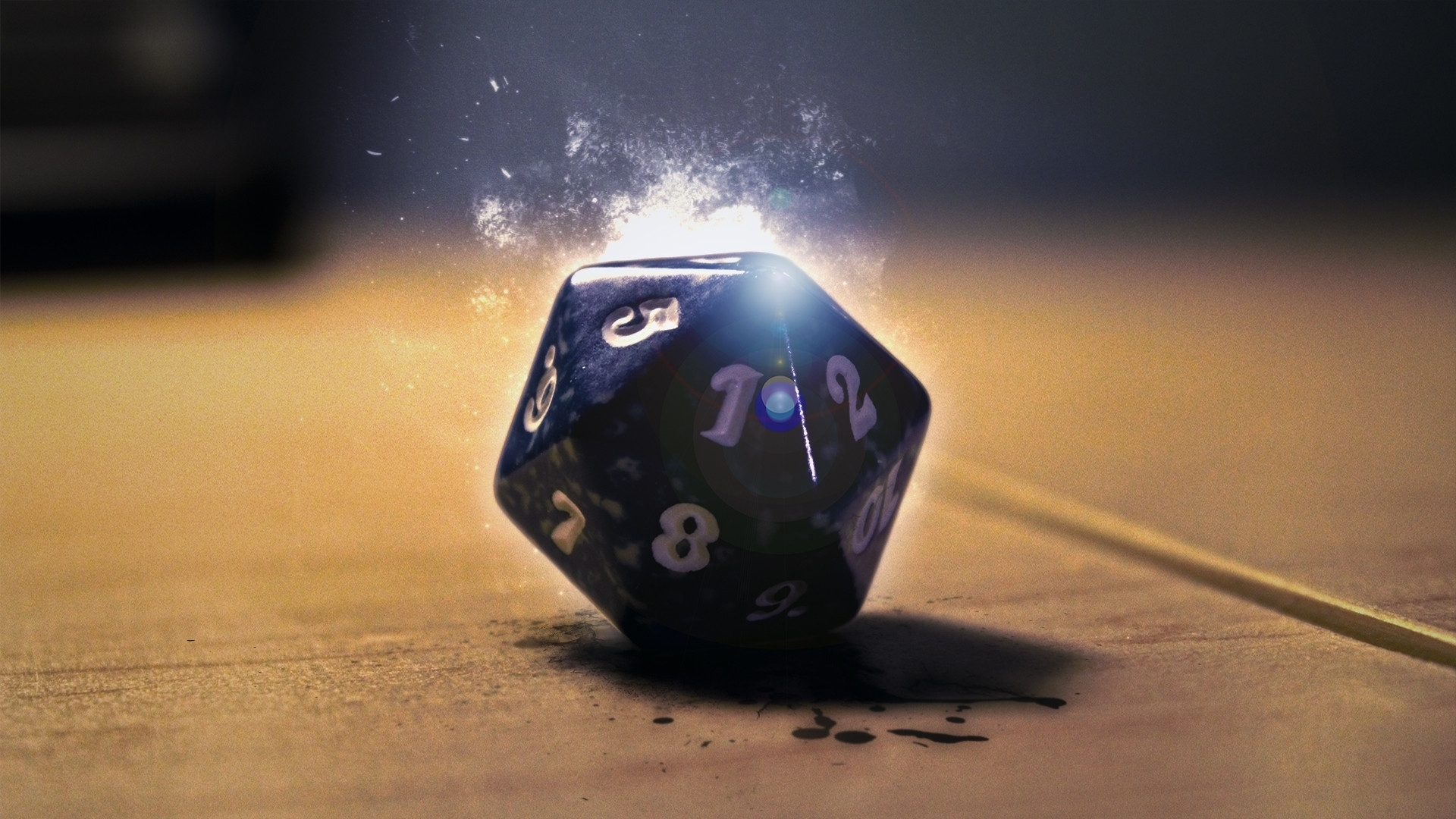 a nice d20 wallpaper. : dnd