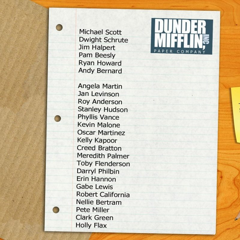 10 New Dunder Mifflin Desktop Wallpaper FULL HD 1080p For PC Desktop 2018 free download a nice simple dunder mifflin paper company wallpaper imgur 800x800