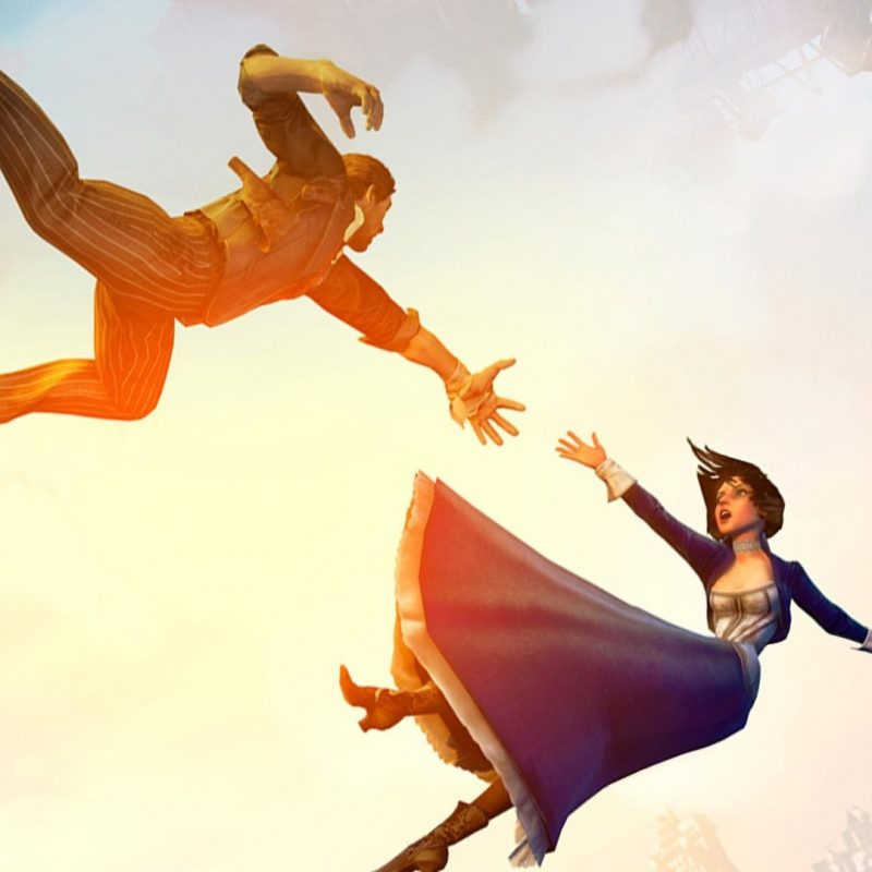 10 Best Bioshock Infinite Wallpaper Falling FULL HD 1920×1080 For PC Background 2020 free download a two monitor version of the falling wallpaper bioshock 800x800