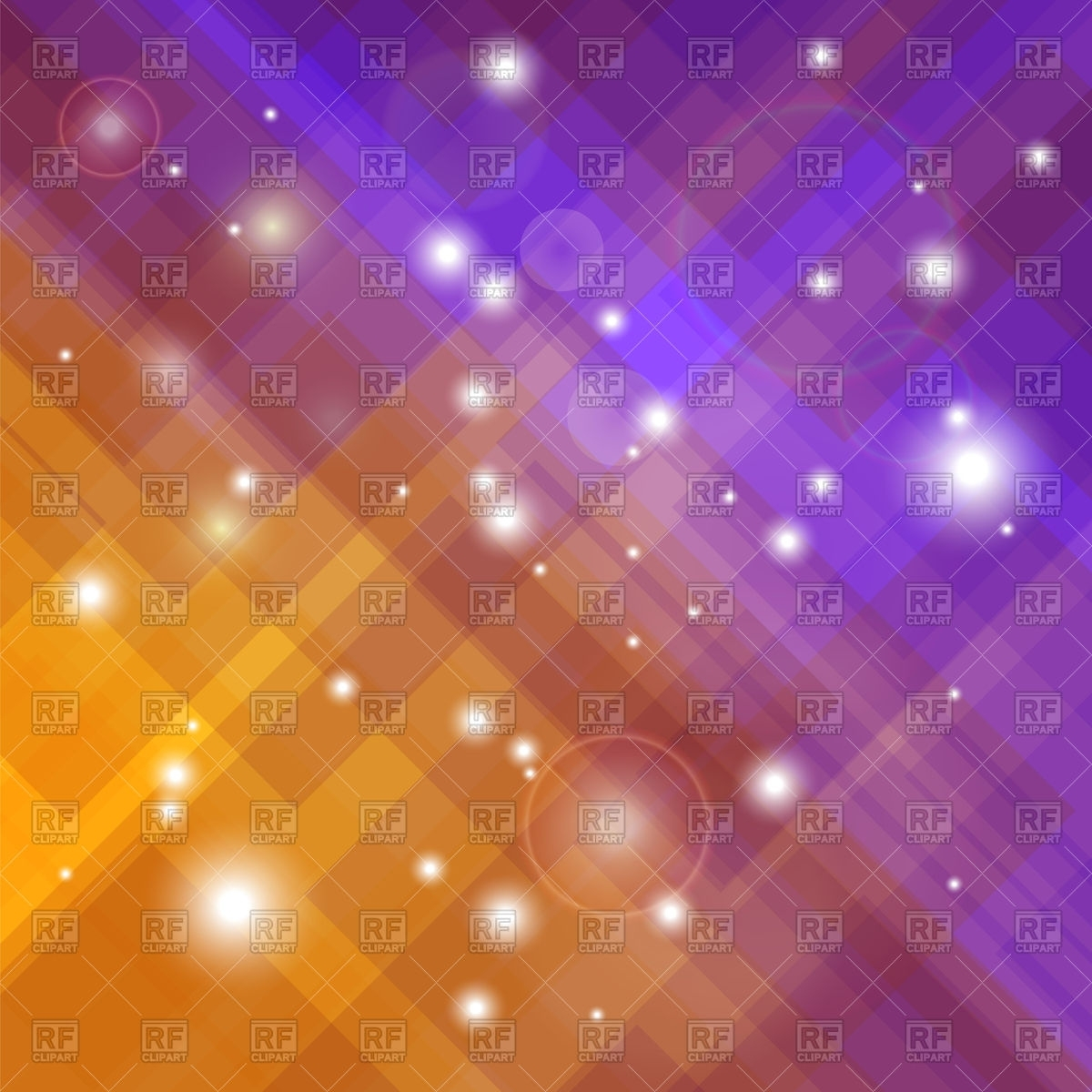 abstract blurred orange purple background royalty free vector clip