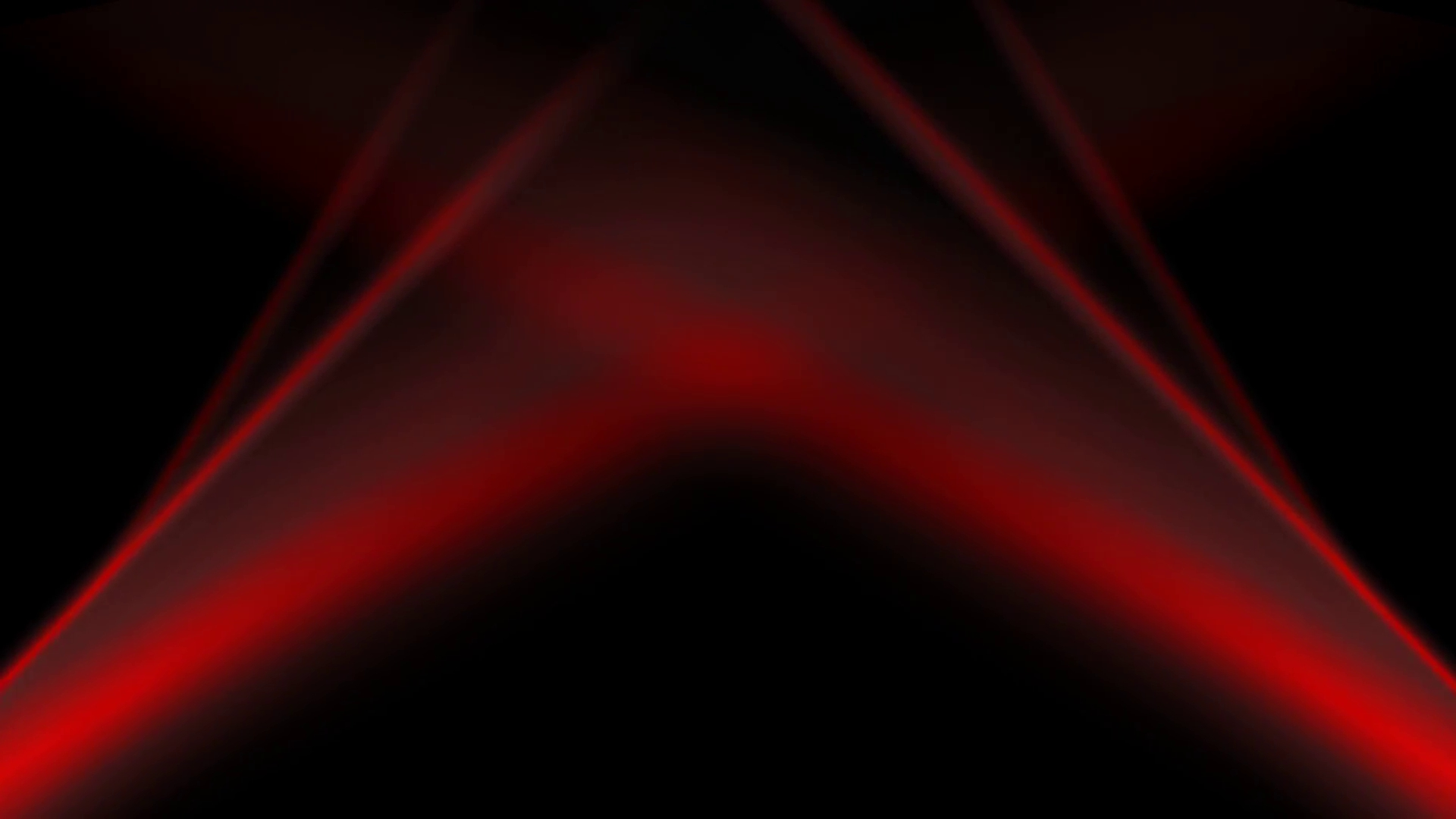 abstract dark animated background. glow red flowing wavy stripes on
