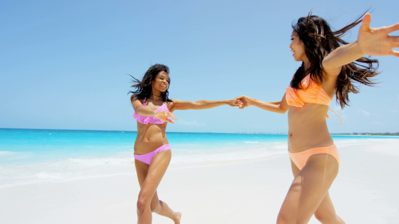 10 Latest Beach Girl Pictures FULL HD 1080p For PC Background 2021 free download african american and asian chinese girls on beach vacation stock 800x450