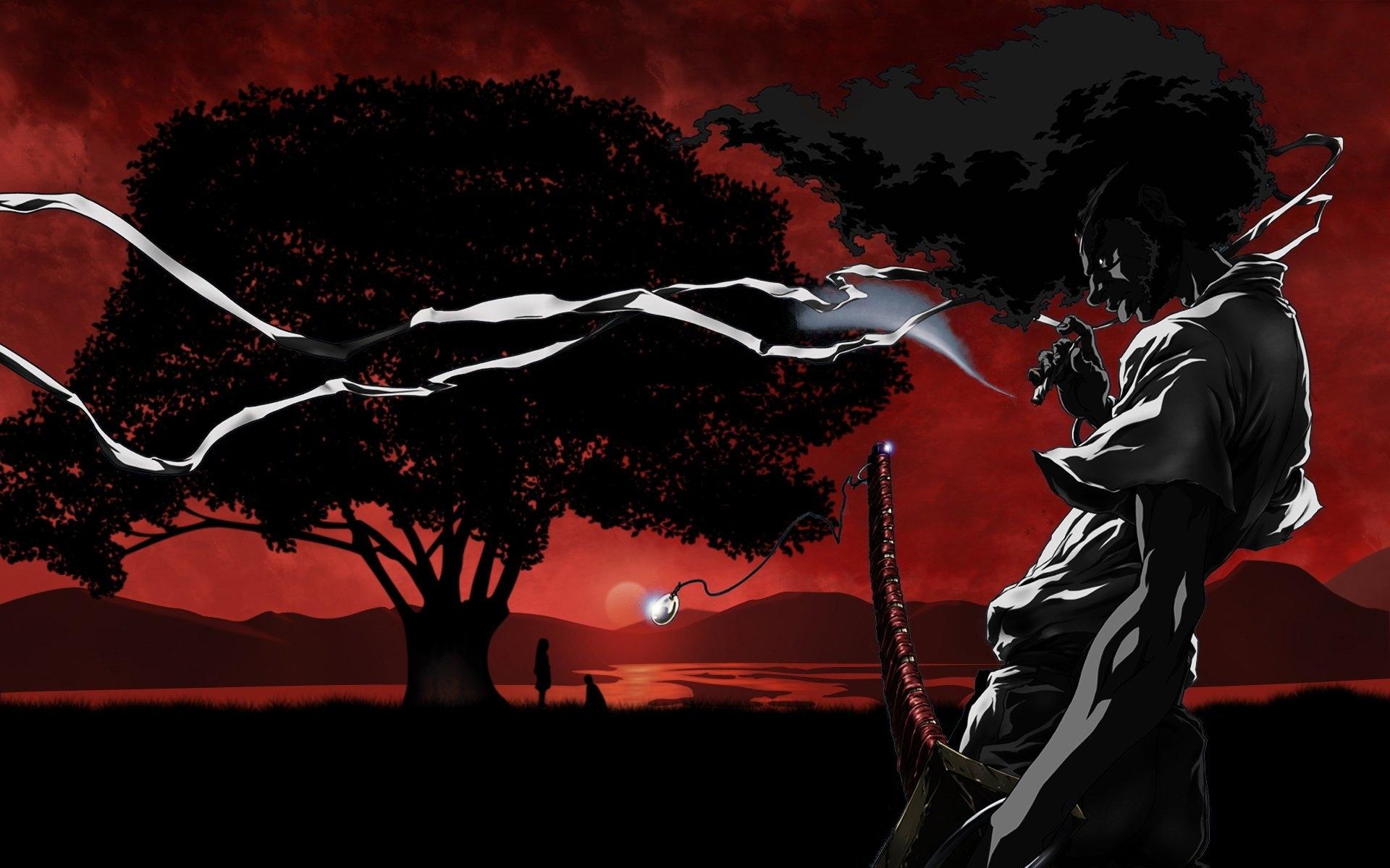 afro samurai full hd fond d'écran and arrière-plan | 1920x1200 | id