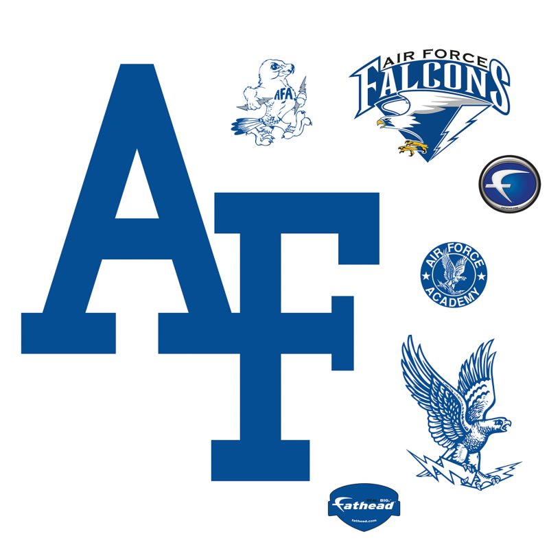 10 Top Air Force Logo Image FULL HD 1920×1080 For PC Desktop 2018 free download air force falcons logo wall decal shop fathead for air force 800x800
