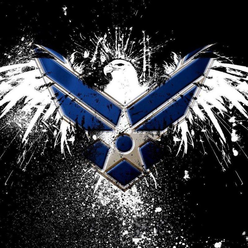 10 Latest Air Force Logo Wallpaper 1920X1080 FULL HD 1080p For PC Desktop 2020 free download air force logo hd wallpaper slwallpapers patriotic artwork 800x800