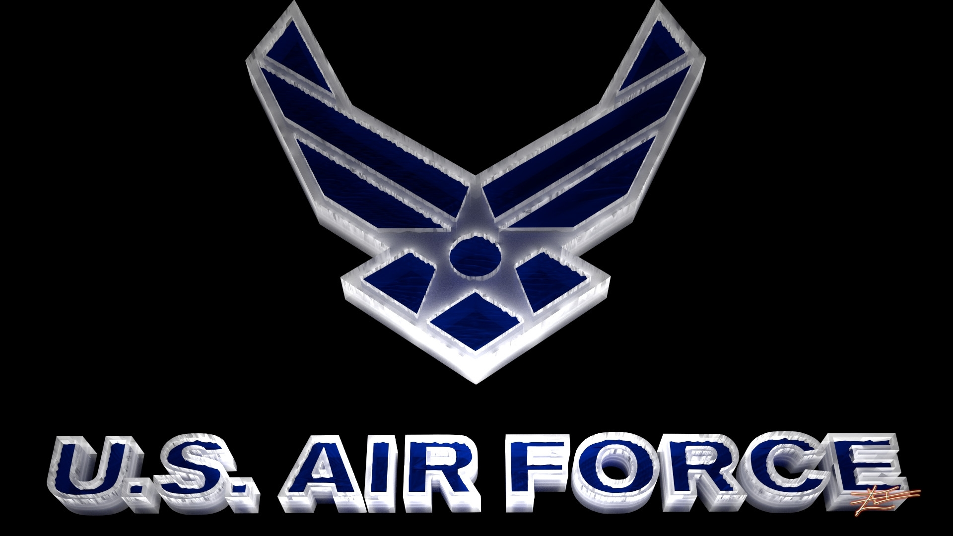 air force logo wallpaper ·①