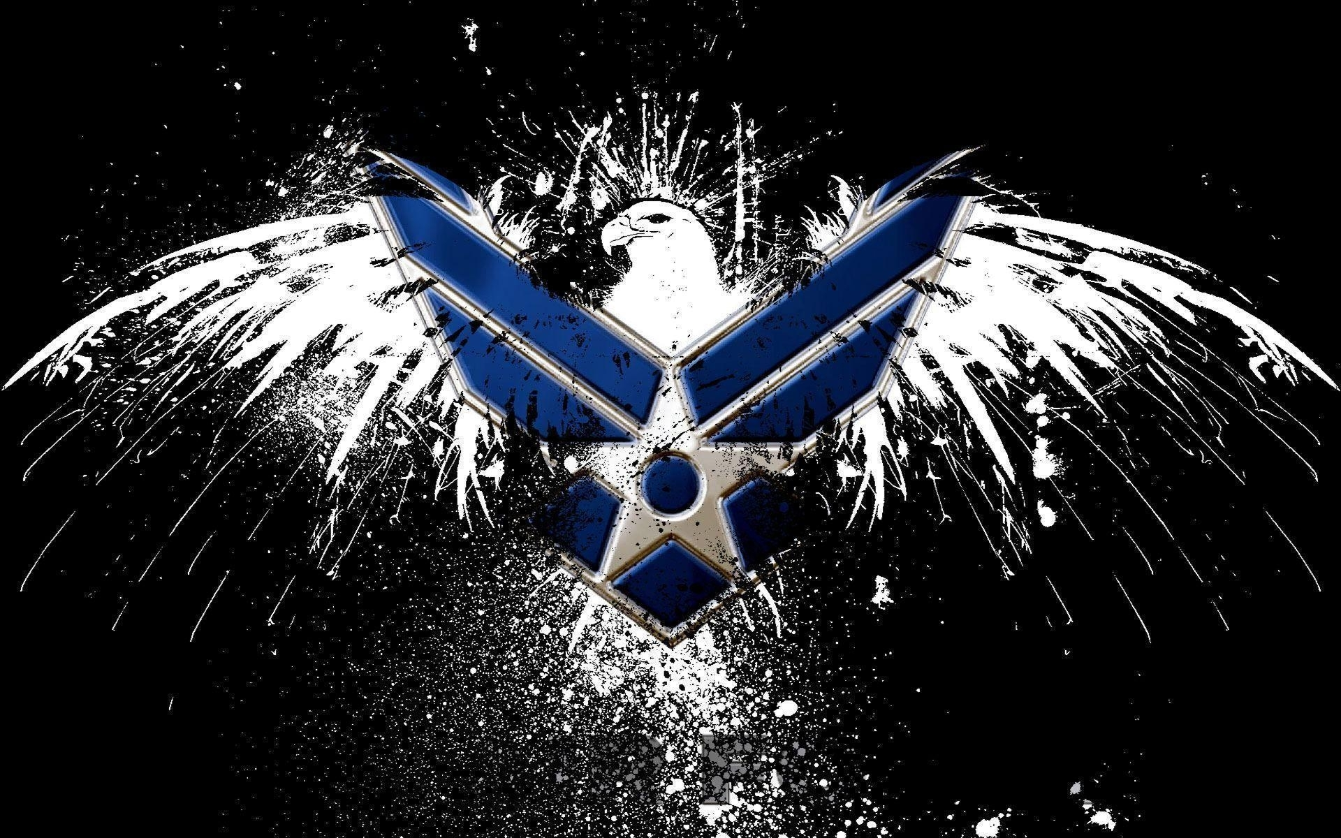 air force logo wallpapers - wallpaper cave