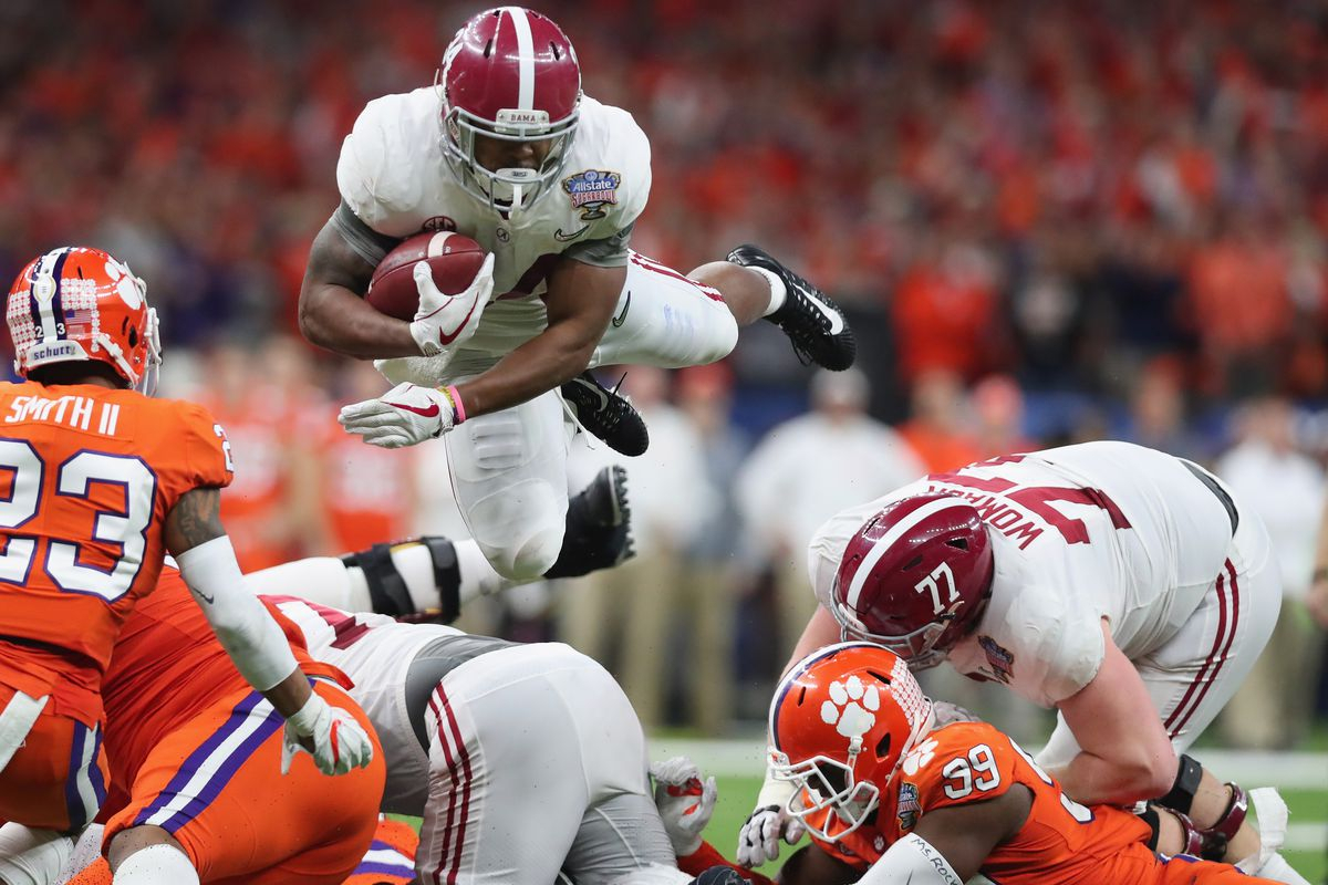alabama 2018 spring football preview: running backs - roll 'bama roll