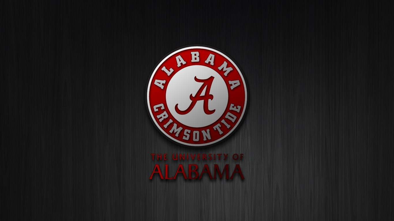 alabama crimson tide football wallpaper with 1366x768 resolution