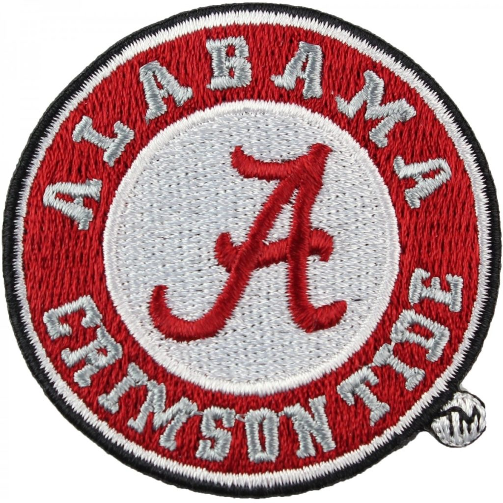 10 Latest Crimson Tide Logo Images FULL HD 1920×1080 For PC Desktop 2018 free download alabama crimson tide round logo iron on embroidered 1024x1024