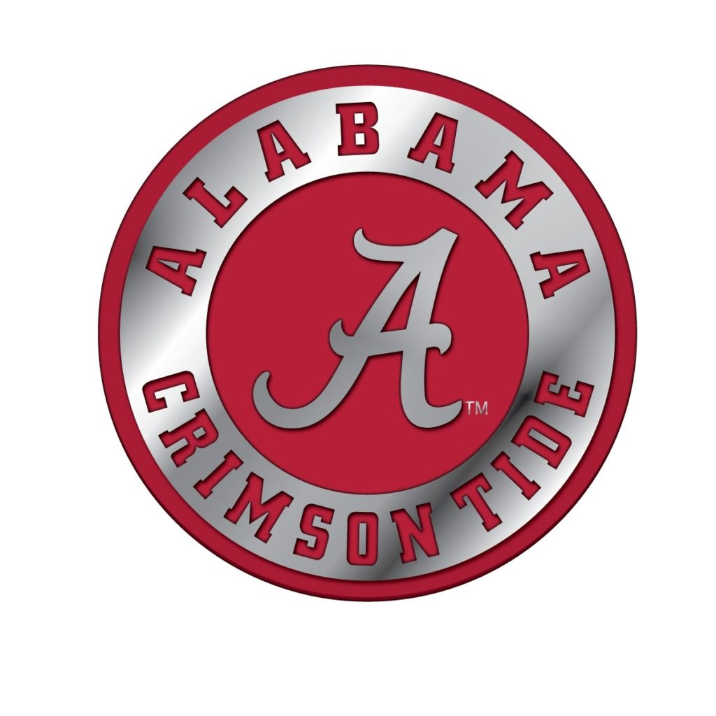 10 Latest Crimson Tide Logo Images FULL HD 1920×1080 For PC Desktop 2018 free download alabama solid metal chrome color emblem alabama crimson tide 1024x1024