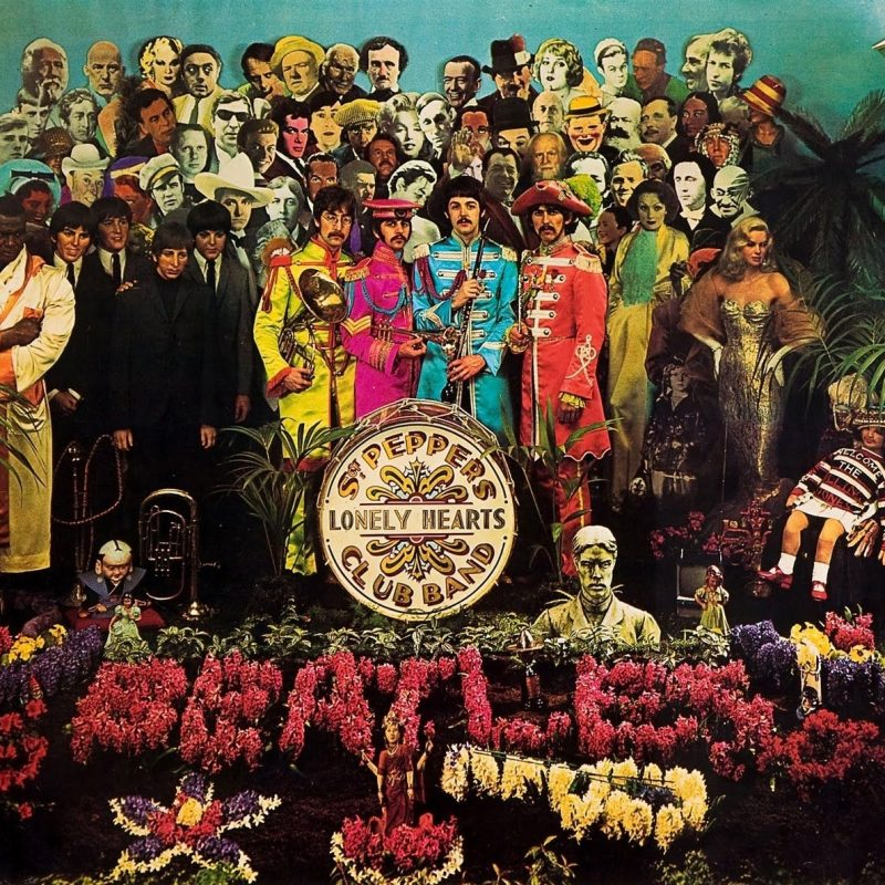 10 Best Sgt Pepper's Lonely Hearts Club Band Wallpaper FULL HD 1920×1080 For PC Background 2018 free download album cover the beatles sgt peppers lonely hearts club band 1600 800x800