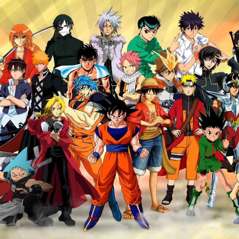10 Latest All Anime Characters Wallpaper FULL HD 1080p For PC Desktop 2018 free download all anime characters wallpaper group with 68 items 800x800