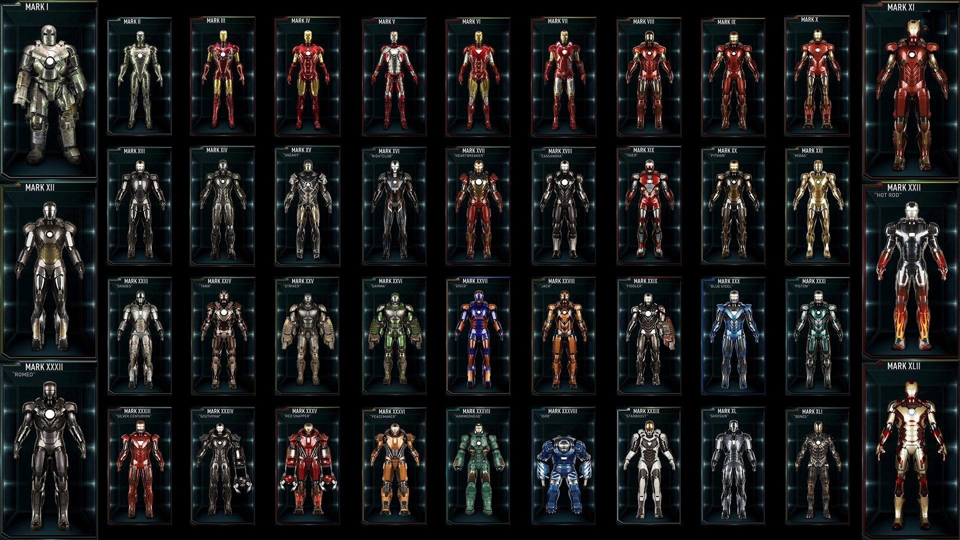 all iron man suits hd background | sharovarka | pinterest | iron man