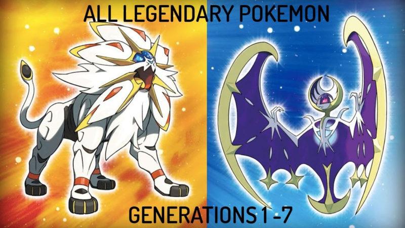 10 Latest All Legendary Pokemon In One Picture FULL HD 1920×1080 For PC Desktop 2021 free download all legendary pokemon gen 1 7 youtube 800x450