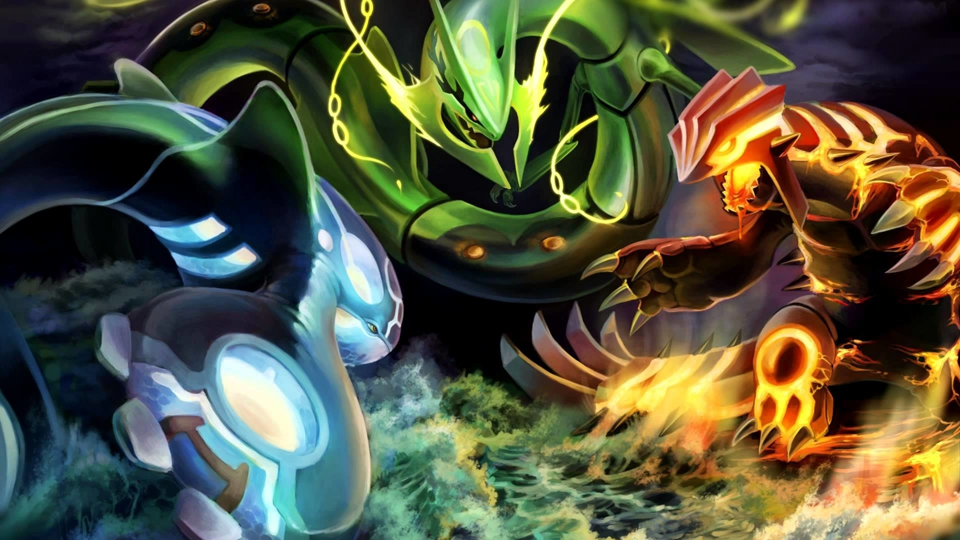 all legendary pokemon wallpaper ·①