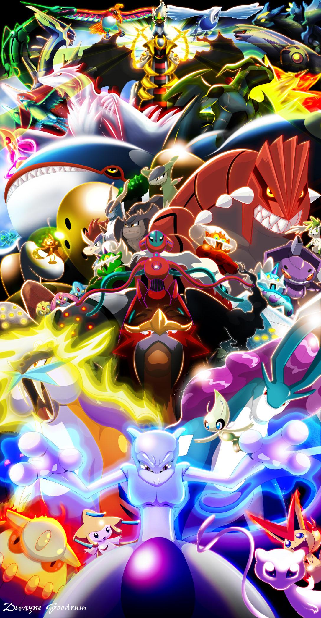 all the legendary pokemon |