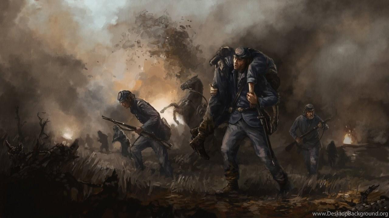 american civil war wallpapers desktop background