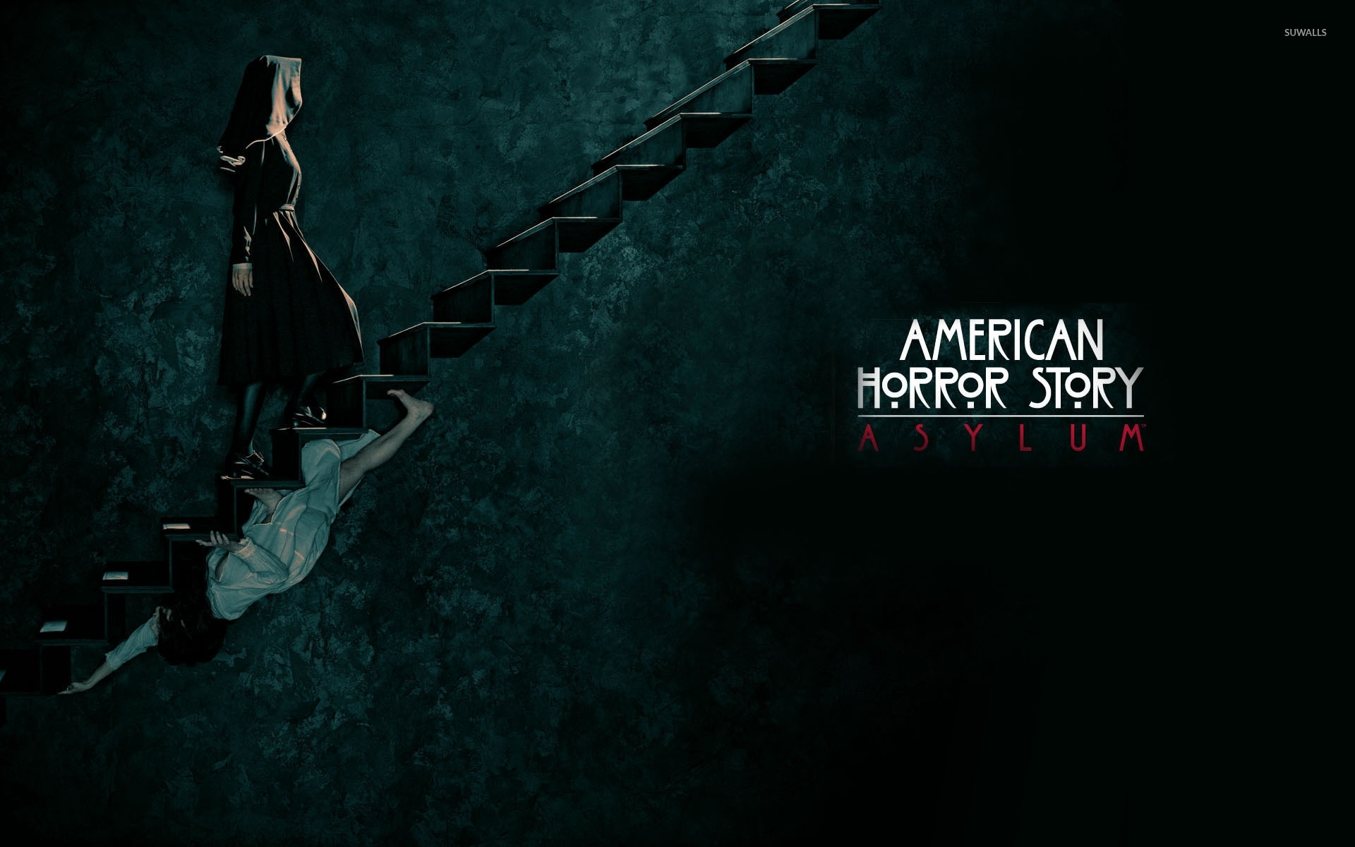 american horror story - asylum [2] wallpaper - tv show wallpapers