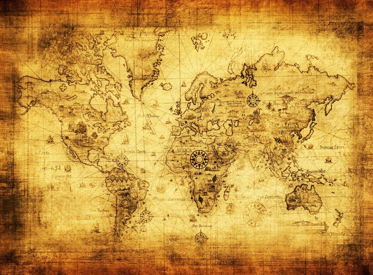 ancient world map wallpaper wall muralloveabode