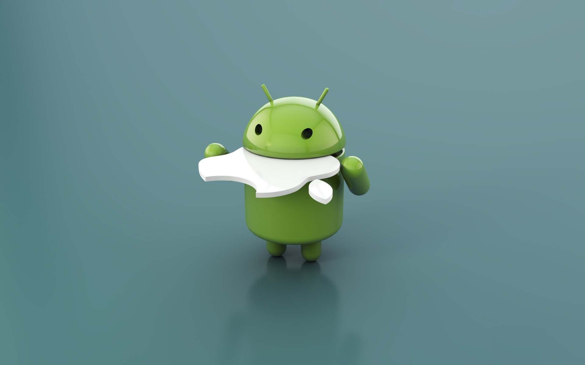 android vs apple desktop wallpaper | hd brands and logos wallpapers