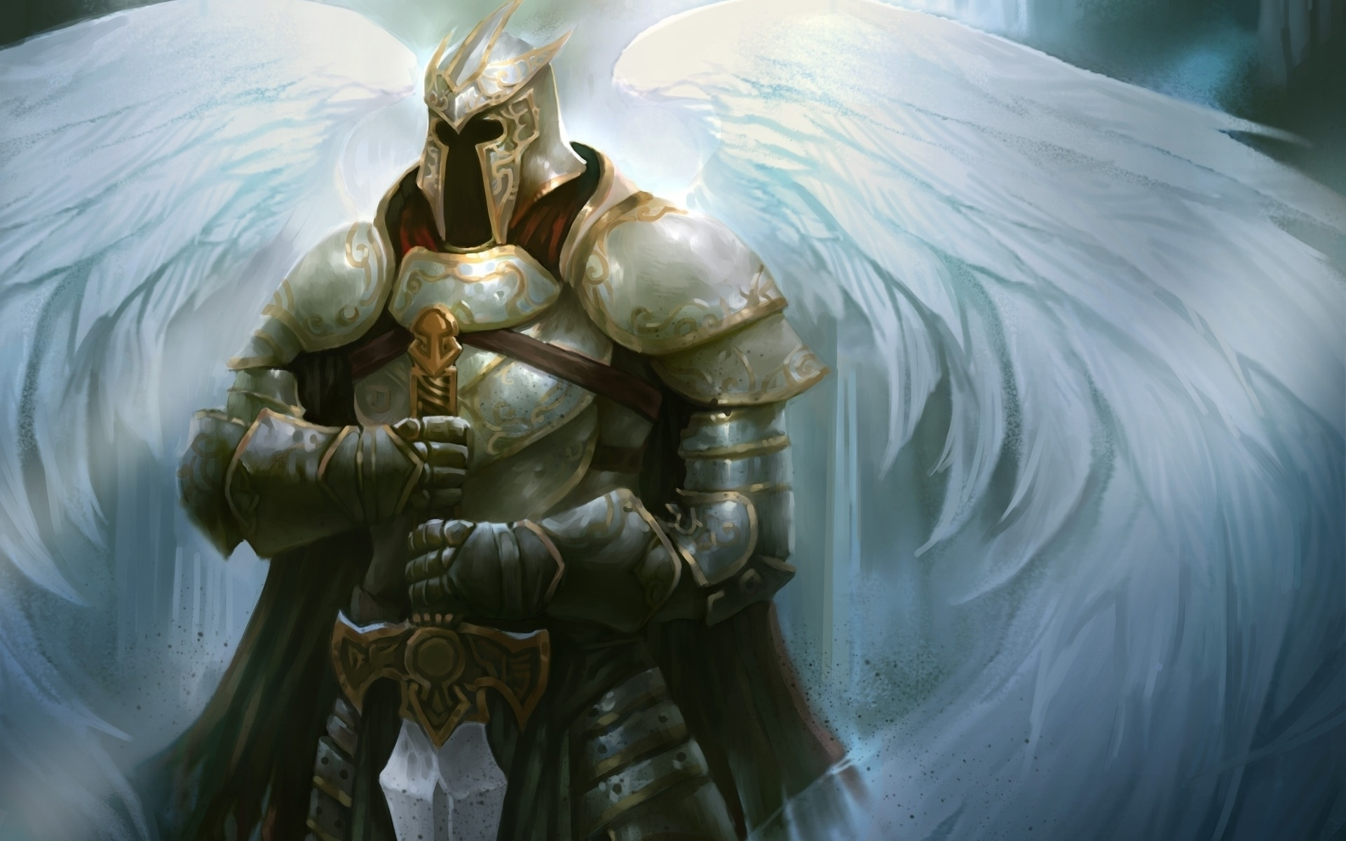 angel warrior full hd wallpaper and background image | 1920x1200