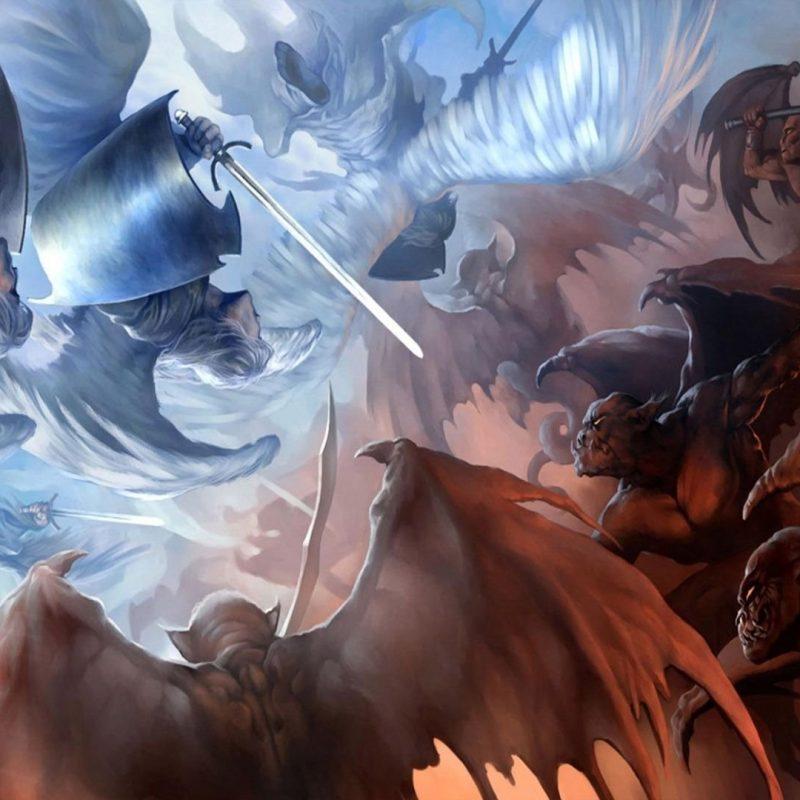 10 Top Angel And Demons Wallpaper FULL HD 1080p For PC Desktop 2021 free download angels vs demons walldevil 2 800x800
