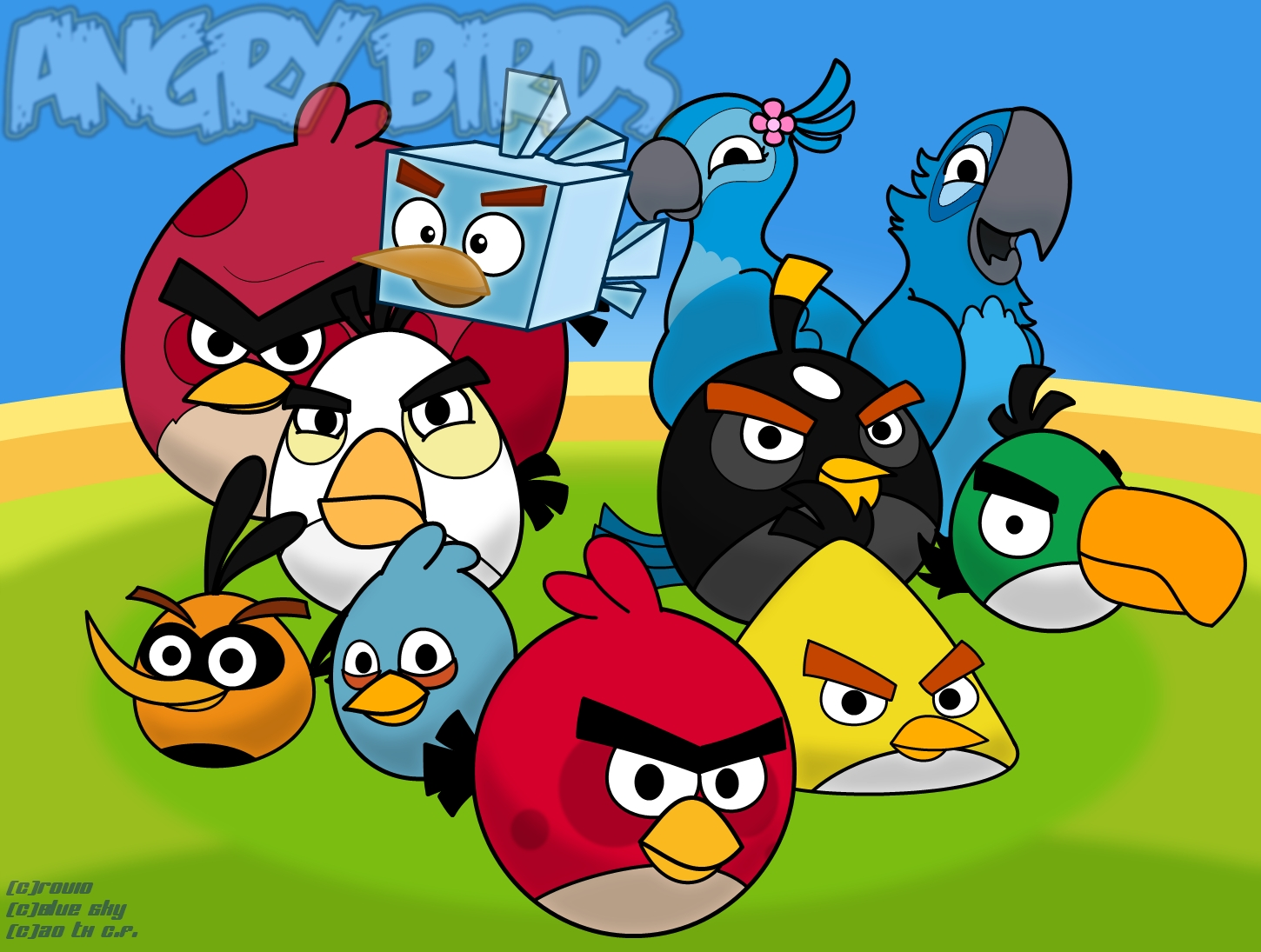 angry birds wallpaper, best angry birds wallpapers in high quality