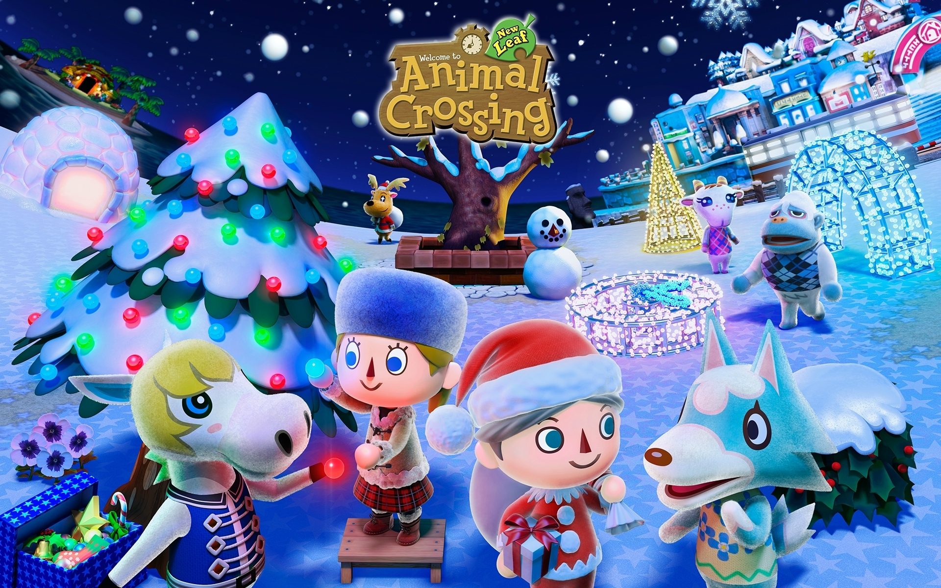 animal crossing new leaf noel - photo de image du site
