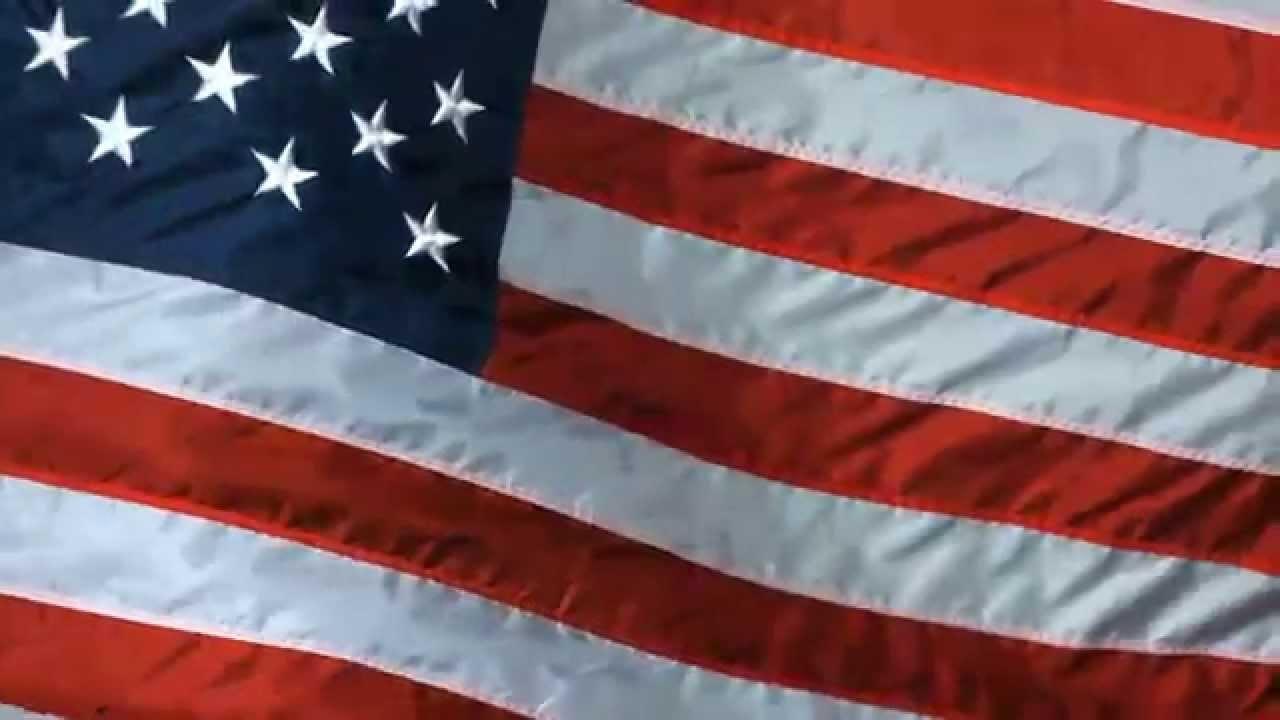 animated silk american flag screensaver - youtube