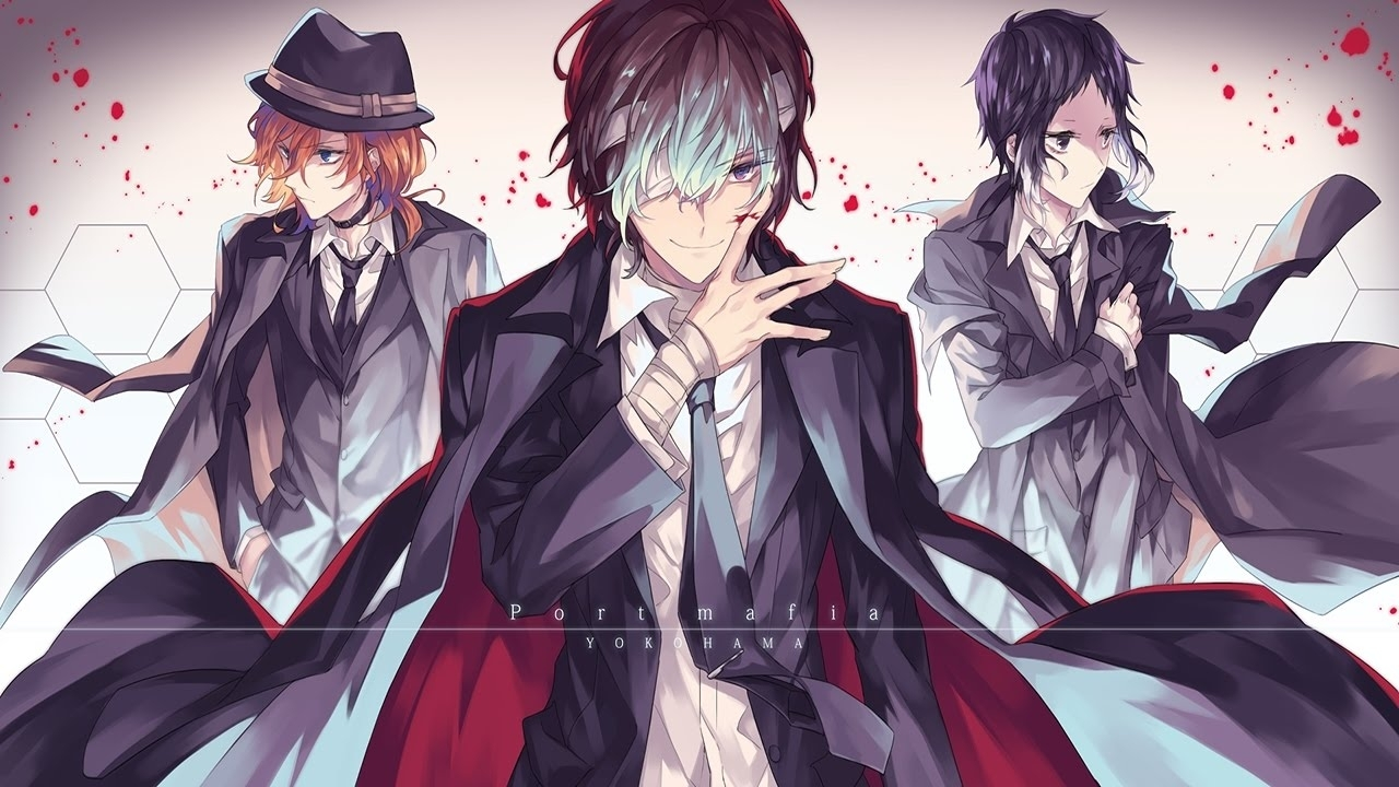 anime bungou stray dogs wallpapers (desktop, phone, tablet