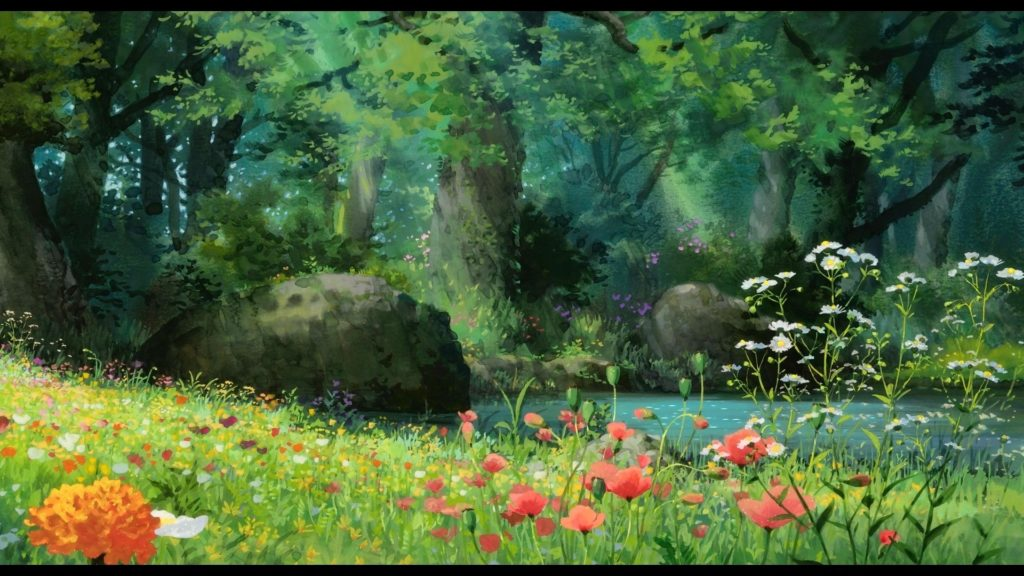10 Best Anime Forest Clearing Background FULL HD 1080p For PC Desktop 2018 free download anime forest background 69 images 1 1024x576