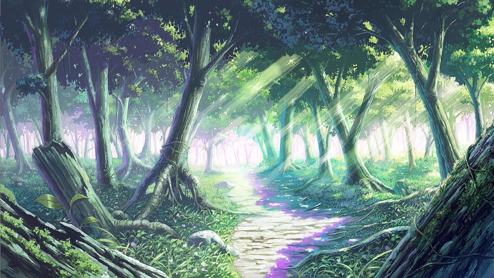 anime forest background (69+ images)