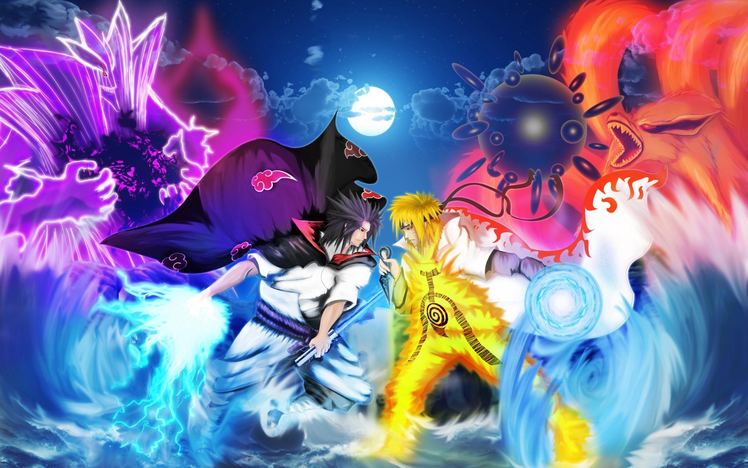 anime naruto vs sasuke wallpaper hd - http://imashon/w/anime