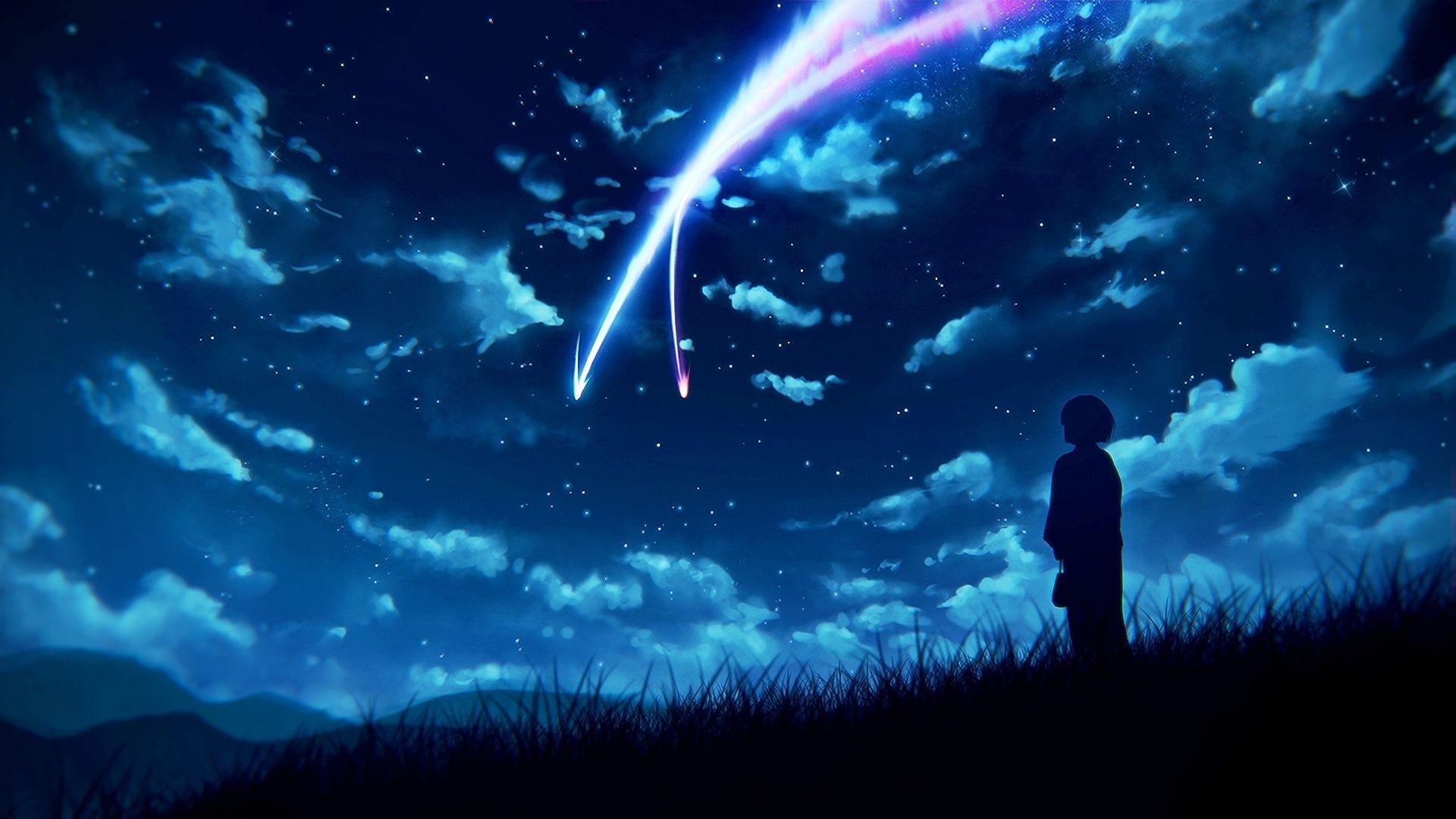 anime your name. mitsuha miyamizu kimi no na wa. wallpaper | kimi no
