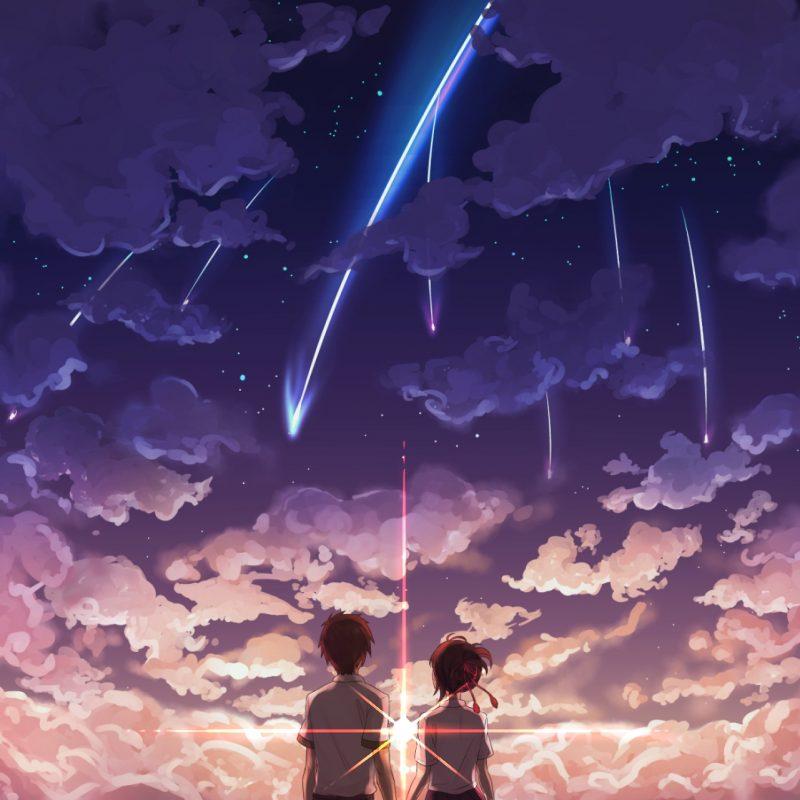 10 Best Kimi No Na Wa Background FULL HD 1920×1080 For PC Desktop 2018 free download anime your name mitsuha miyamizu taki tachibana kimi no na wa 800x800