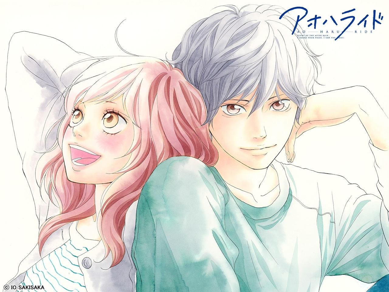 ao haru ride (blue spring ride), wallpaper - zerochan anime image board